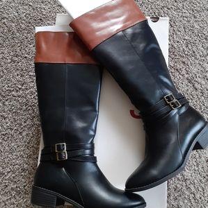 Women riding boots